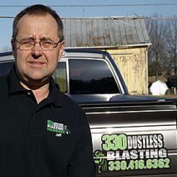 Jeff Komjati - 330 Dustless Blasting
